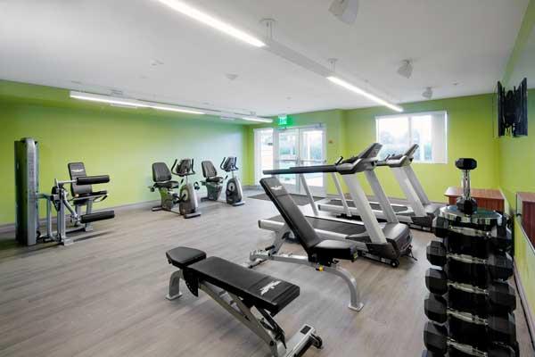 The Metro @ Compton Senior Apartments Gym Facility