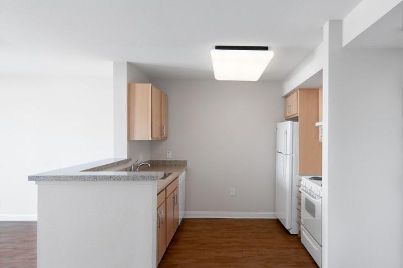 The Metro @ Compton Senior Apartments Kitchen View1