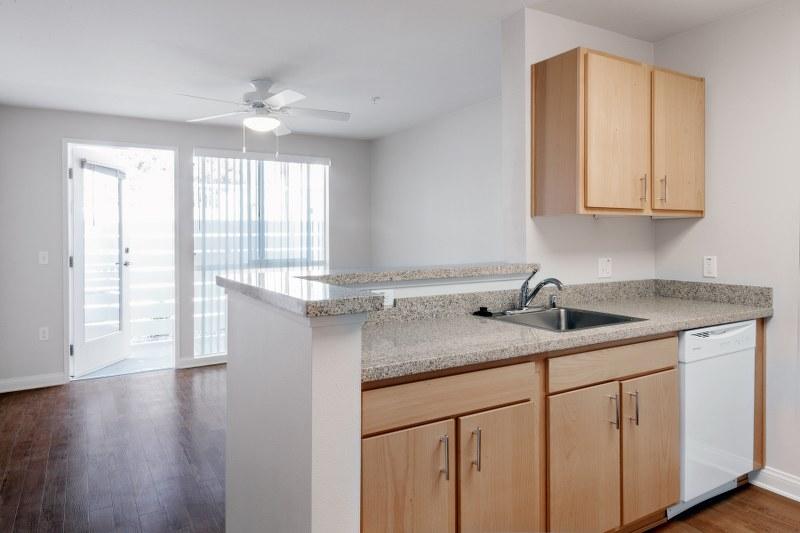 The Metro @ Compton Senior Apartments Kitchen View