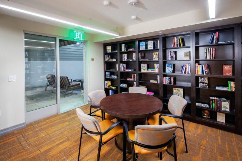 The Metro @ Compton Senior Apartments Reading room