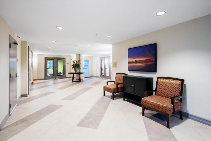 The Metro @ Compton Senior Apartments Lobby